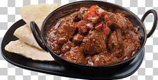 Indian Cuisine Rogan Josh Karahi Naan Lamb And Mutton PNG
