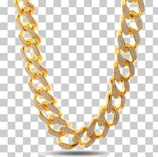 Necklace Jewellery Chain Gold Earring PNG