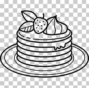 Pancake Drawing Coloring Book Food Coloring PNG