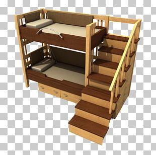 Bunk Bed Dormitory Mattress PNG