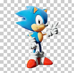 Sonic Mania Sonic 3D Art Game PNG