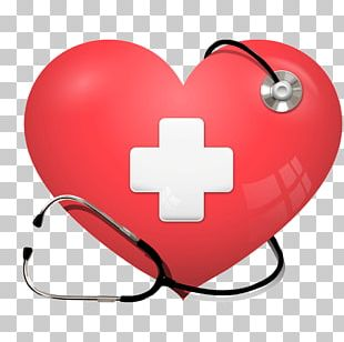 Heart Stethoscope Health Care Cardiology PNG
