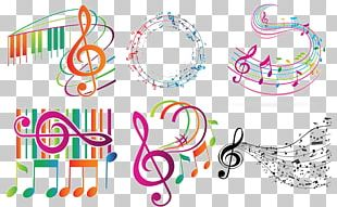 Musical Note Icon Design PNG