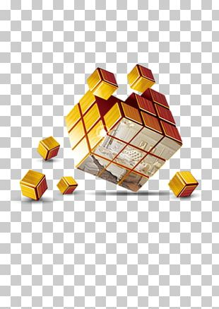 Cube 3D Computer Graphics Three-dimensional Space PNG