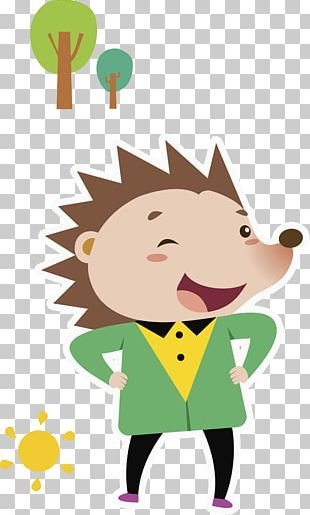 Hedgehog Cartoon PNG