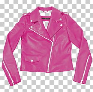 Leather Jacket Carla Dawn Behrle NYC Leather Clothing Tailor PNG