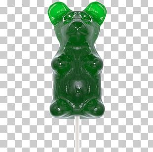 Gummy Bear Gummi Candy Lollipop Flavor PNG