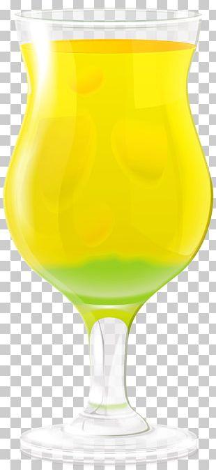 Orange Juice Beer Wine Glass PNG
