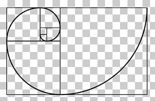 Golden Spiral Fibonacci Number Golden Ratio Liber Abaci PNG