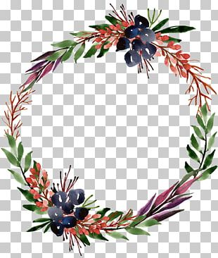 Wreath Tree Christmas Ornament PNG