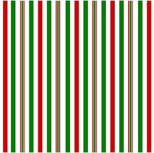 Christmas Decorative Stripes PNG