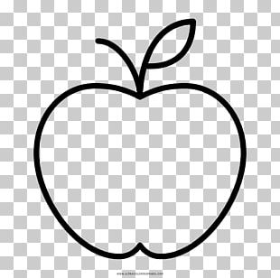 Coloring Book Drawing Apple Child PNG
