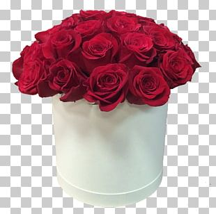 Flower Bouquet Box Garden Roses PNG