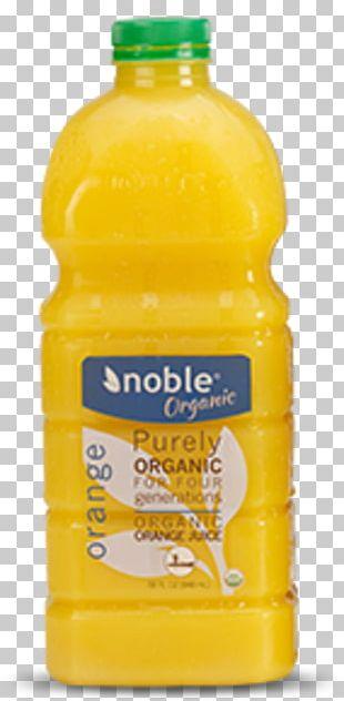 Orange Juice Orange Drink Water Bottles Orange Soft Drink Plastic Bottle PNG