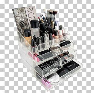 Cosmetics Box Eye Shadow Lipstick Drawer PNG