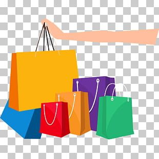 Online Shopping Shopping Bag PNG