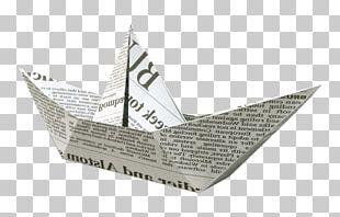 Newspaper Watercraft PNG