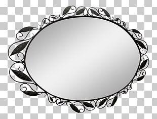 Mirror Clip Wall Design Furniture PNG