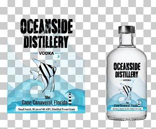 Absolut Vodka Glass Bottle Liquid Water PNG