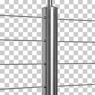 Cable Railings Guard Rail Deck Wire Rope Stainless Steel PNG