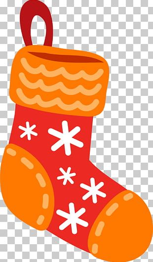 Christmas Stocking Gift Sock PNG