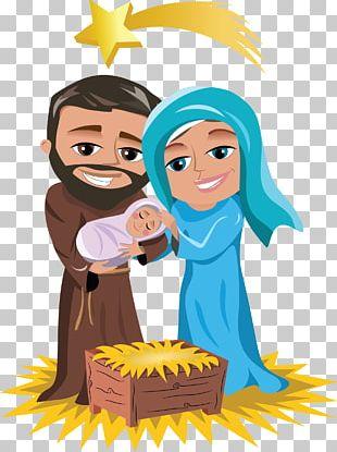 Holy Family Nativity Of Jesus Nativity Scene Christmas Child Jesus PNG