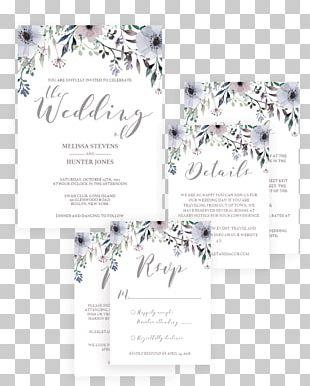 Wedding Invitation Bridegroom RSVP PNG