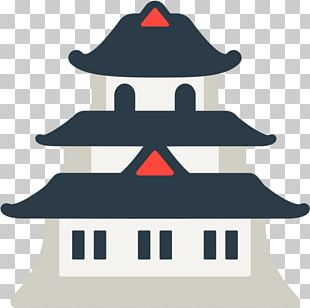 Emojipedia Japanese Castle Sticker PNG