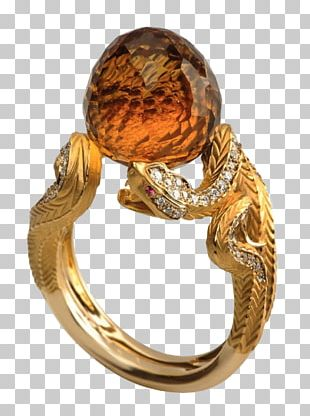 Jewellery Ring Gemstone Gold Diamond PNG