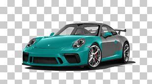 Porsche 911 GT3 R (991) Sports Car 2018 Porsche 911 GT3 PNG