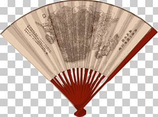 China Paper Hand Fan PNG