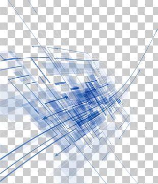 Blue Euclidean PNG