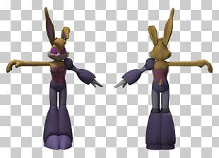 Figurine Purple PNG