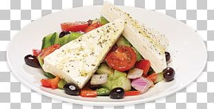 Greek Salad Fattoush Restaurant Feta PNG