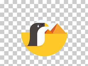 Penguin Flat Design PNG