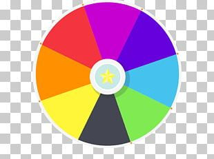 Prize Spinning Wheel PNG