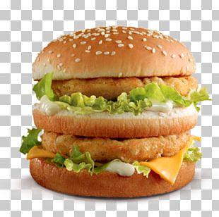 McDonald's Big Mac Chicken Sandwich Fast Food McChicken Hamburger PNG
