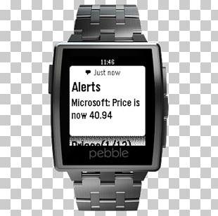 Pebble STEEL LG G Watch R Smartwatch PNG