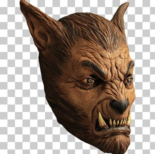 Gray Wolf The Werewolf Mask Halloween Costume PNG