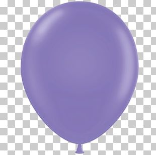 Lilac Purple Lavender Balloon Party PNG