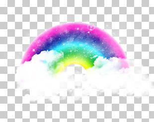 Rainbow Cloud Drawing Desktop PNG