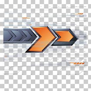 Arrow Euclidean Yellow PNG