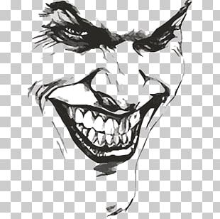 Joker Batman Drawing Art Sketch PNG