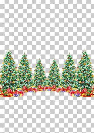 Christmas Tree Gift Christmas Decoration Santa Claus PNG
