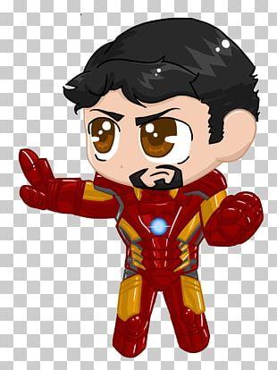 Iron Man Captain America Loki Chibi Marvel Comics PNG