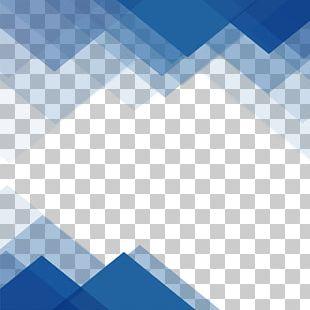 Border Texture Blue PNG