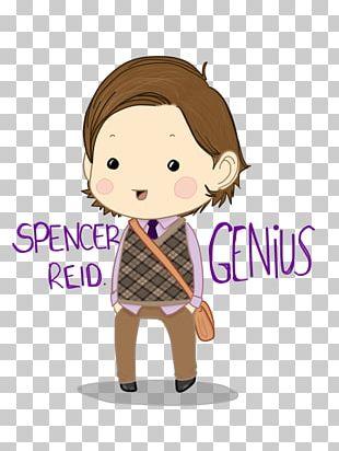Fan Art Spencer Reid Character PNG
