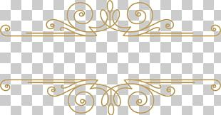 Frame Gold Pattern PNG