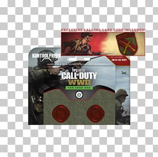 Kontrol Freek Gaming Thumb Stick Call Of Duty: WWII PS4 Exclusive Calling Card Call Of Duty: Black Ops Xbox One Call Of Duty: World At War PNG