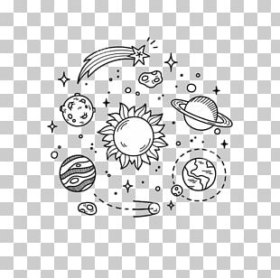 Drawing Doodle Space PNG
